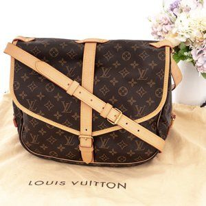 LOUIS VUITTON Saumur 35 Crossbody Bag